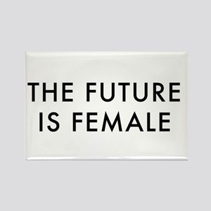 the future is female, women's march Magnets