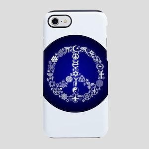 coexist/peace iPhone 8/7 Tough Case