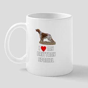 I love My Brittany Spaniel Mug