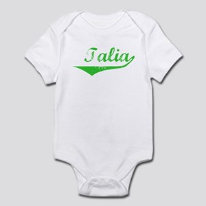 Talia Vintage (Green) Infant Bodysuit