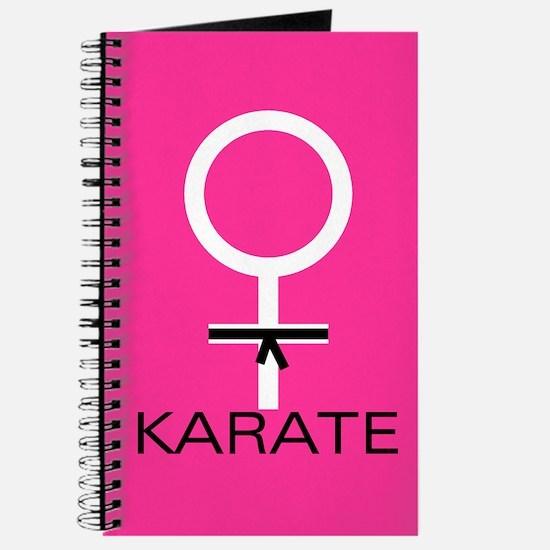 Karate Black Belt Female Journal