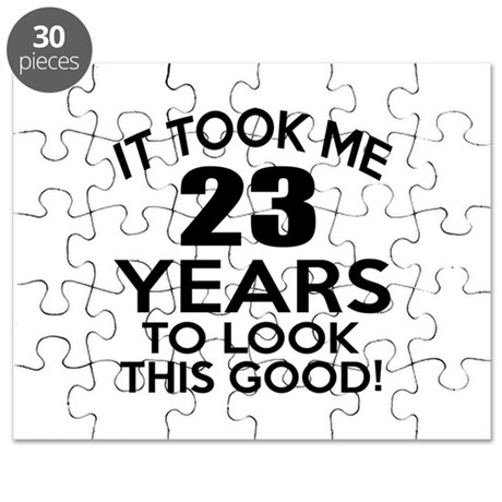 It Took Me 23 Years Puzzle by Foxxit