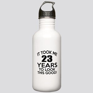 It Took Me 23 Years Stainless Water Bottle 1.0L