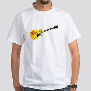 New Mexico State Flag Guitar T-Shirt