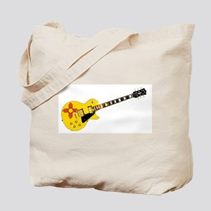 New Mexico State Flag Guitar Tote Bag