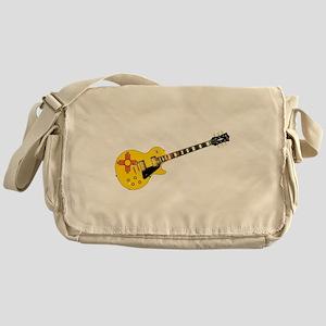 New Mexico State Flag Guitar Messenger Bag