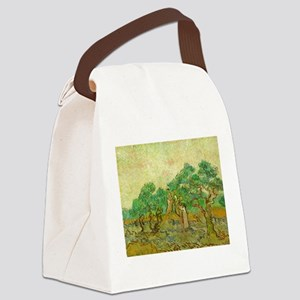 The Olive Orchards by Vincent van Gogh Canvas Lunc