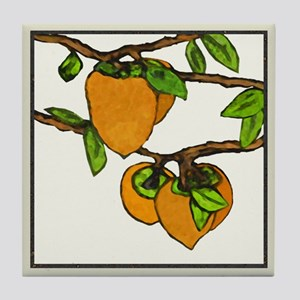 persimmons Tile Coaster