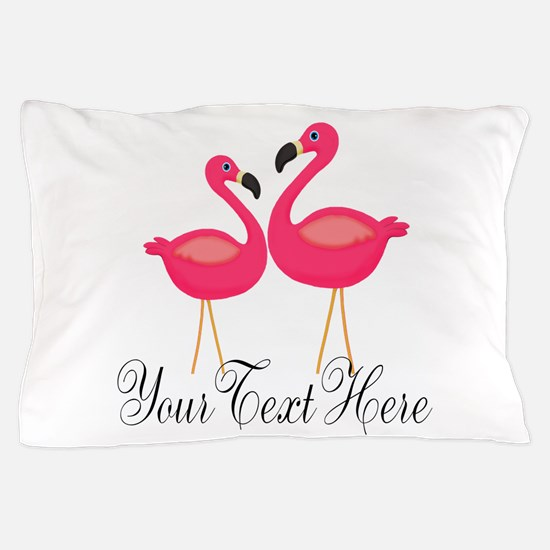 Pink Flamingos Pillow Case