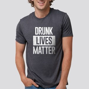 Drunk Lives Matter Mens Tri-blend T-Shirt
