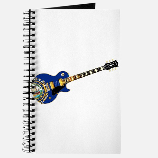 New Hampshire State Flag Guitar Journal