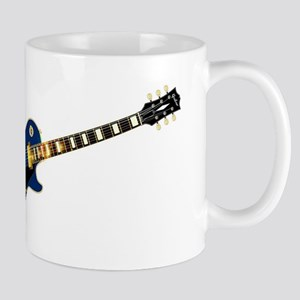 Maine State Flag Guitar Mugs