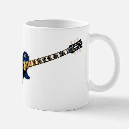 Maine State Flag Guitar Mugs