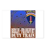 The Berlin to Frankfurt Duty Postcards (Package of