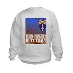 The Berlin to Frankfurt Duty Kids Sweatshirt