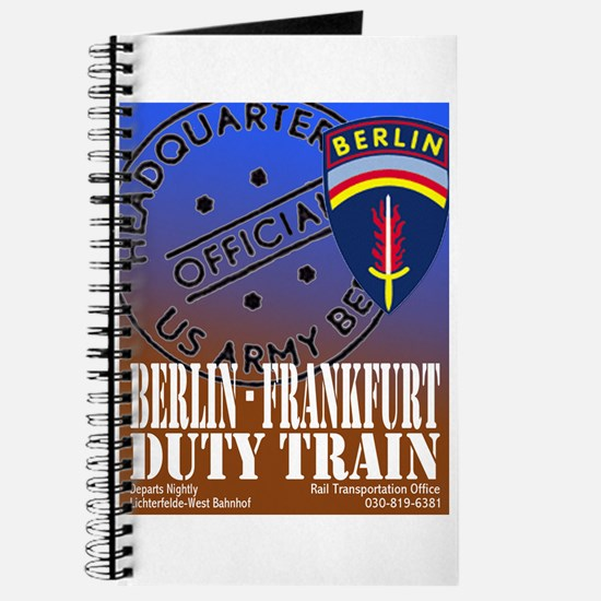The Berlin to Frankfurt Duty Journal
