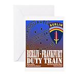 The Berlin to Frankfurt Duty Greeting Cards (Pk of