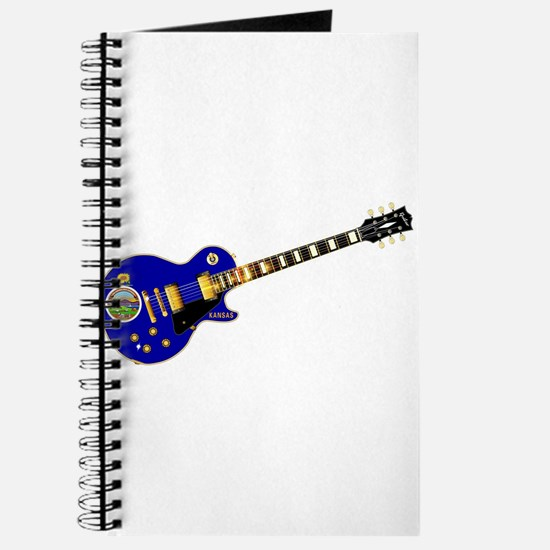 Kansas State Flag Guitar Journal