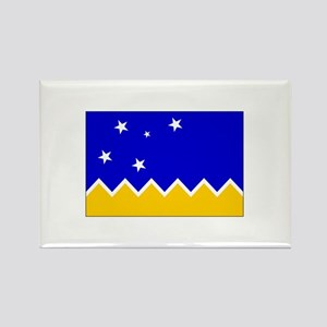 Magallanes Chile Flag Rectangle Magnet