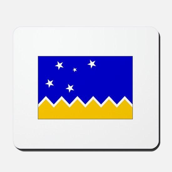 Magallanes Chile Flag Mousepad
