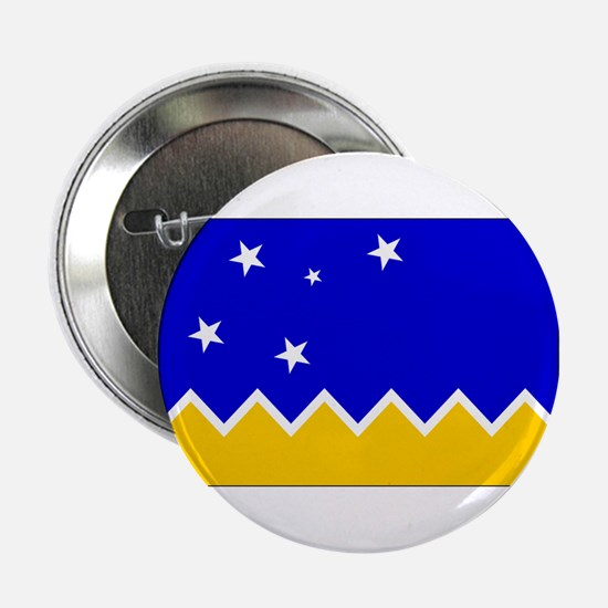 "Magallanes Chile Flag 2.25"" Button"