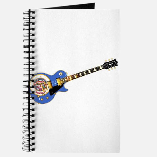Minnesota State Flag Guitar Journal