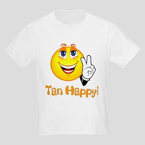 Tan Happy/Fiji Logo Shirt Kids Light T-Shirt