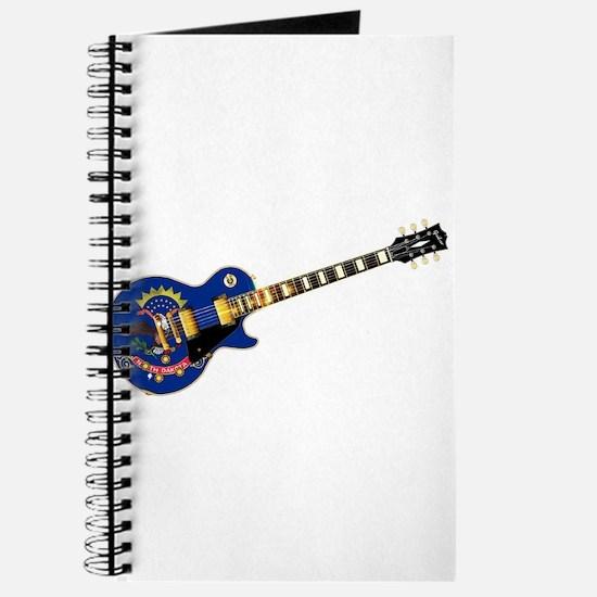 North Dakota State Flag Guitar Journal
