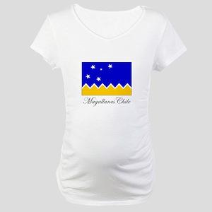 Magallanes Chile - Flag Maternity T-Shirt