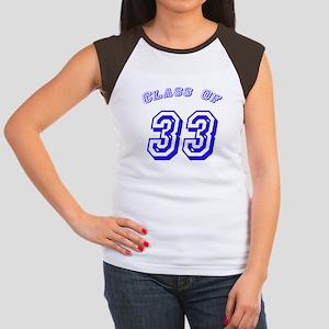 Class Of 33 Women's Cap Sleeve T-Shirt