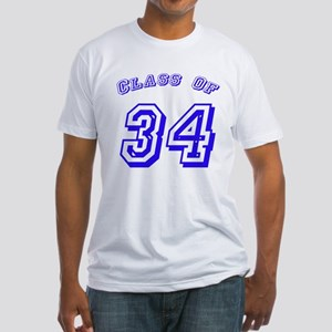 Class Of 34 Fitted T-Shirt