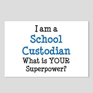school custodian Postcards (Package of 8)