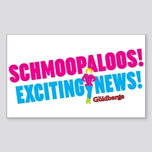 Schmoopaloos Exciting News Sticker
