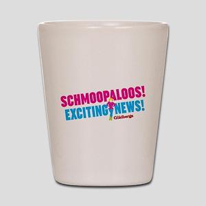 Schmoopaloos Exciting News Shot Glass
