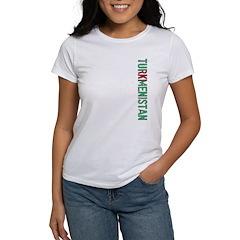 Turkmenistan Stamp Women's T-Shirt