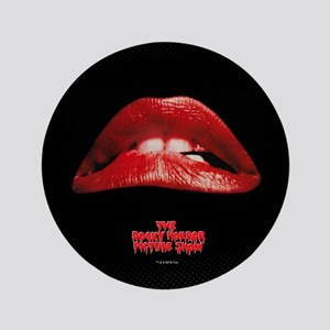 Rocky Horror Lips Button