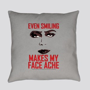 Rocky Horror Face Ache Everyday Pillow