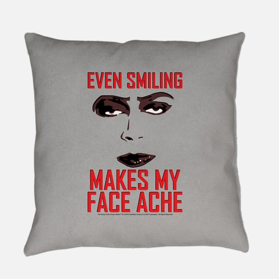 Rocky Horror Face Ache Everyday Pillow