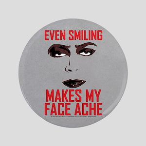 Rocky Horror Face Ache Button
