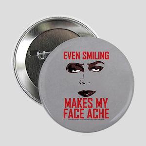 """Rocky Horror Face Ache 2.25"""" Button"""