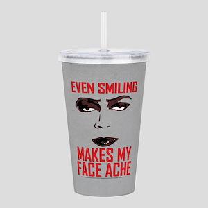Rocky Horror Face Ache Acrylic Double-wall Tumbler