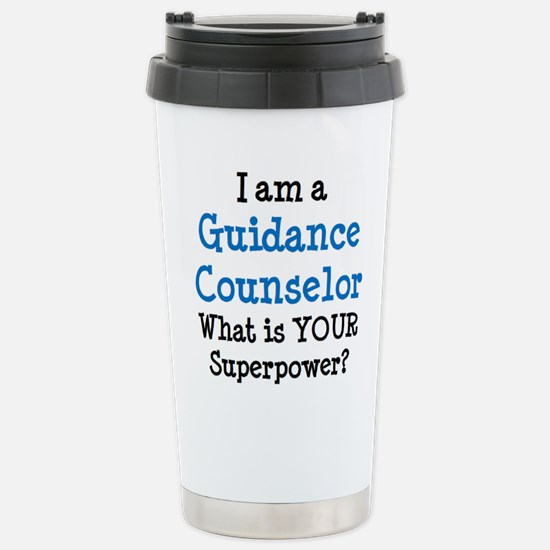 guidance counselor Stainless Steel Travel Mug