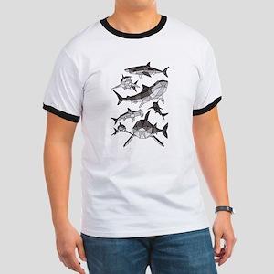 Geometric Sharks T-Shirt