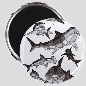 Geometric Sharks Magnets