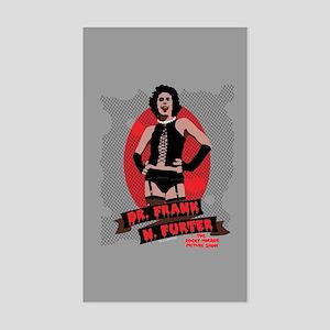 Rocky Horror Dr Frank-N-Furter Sticker (Rectangle)