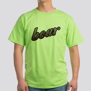 Bear Green T-Shirt