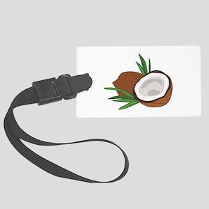 Coconut Luggage Tag