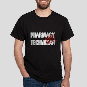 Off Duty Pharmacy Technician Dark T-Shirt
