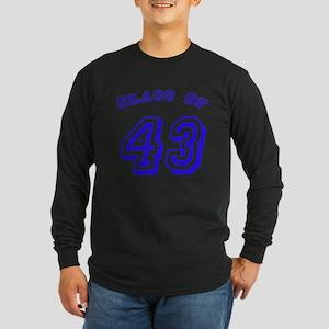 Class Of 43 Long Sleeve Dark T-Shirt