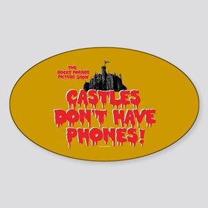 Rocky Horror Castles Sticker (Oval)